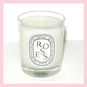 Diptyque ROSES Scented Candle 2.4 oz 70 g New Rose